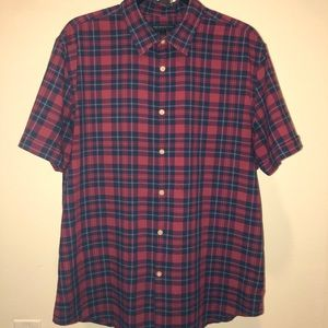 Men's Large John Varvatos Short Sleeve Button Down